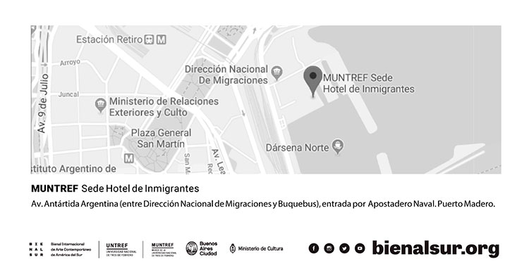 Convocatoria 2a edición BIENALSUR - Open Call BIENALSUR 2nd edition